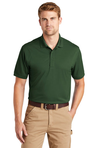CornerStone CS4020 Industrial Snag-Proof Pique Polo - Dark Green - HIT A Double