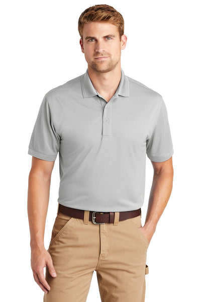 CornerStone CS4020 Industrial Snag-Proof Pique Polo - Light Gray - HIT A Double