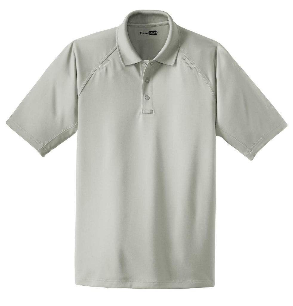 CornerStone CS410 Select Snag-Proof Tactical Polo - Light Gray - HIT A Double