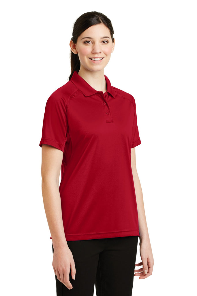 CornerStone CS411 Ladies Select Snag-Proof Tactical Polo - Red - HIT A Double