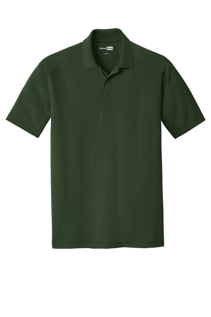 CornerStone CS418 Select Lightweight Snag-Proof Polo - Dark Green - HIT A Double