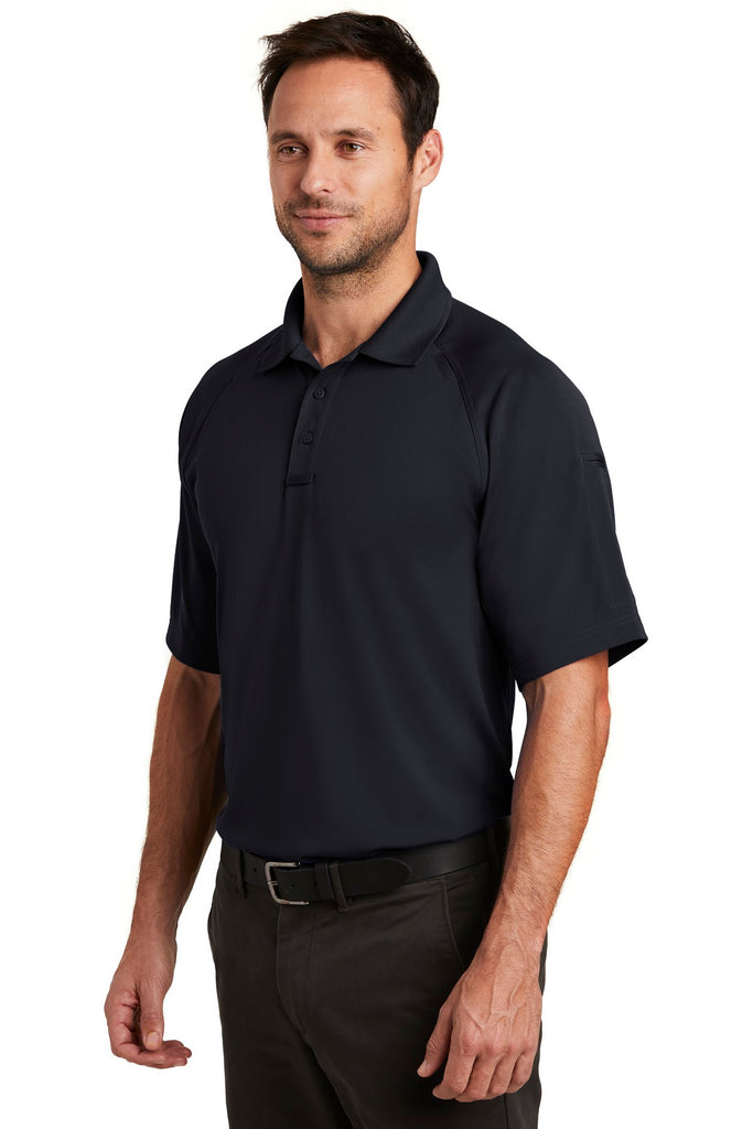 CornerStone CS420 Select Lightweight Snag-Proof Tactical Polo - Dark Navy - HIT A Double