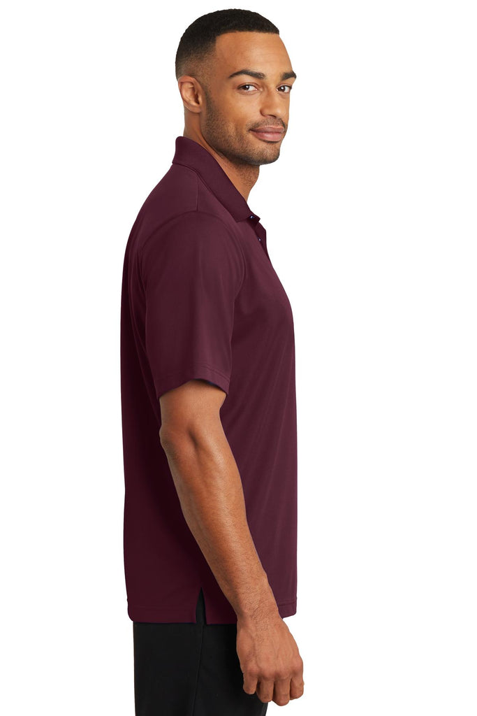CornerStone CS421 Micropique Gripper Polo - Maroon - HIT A Double