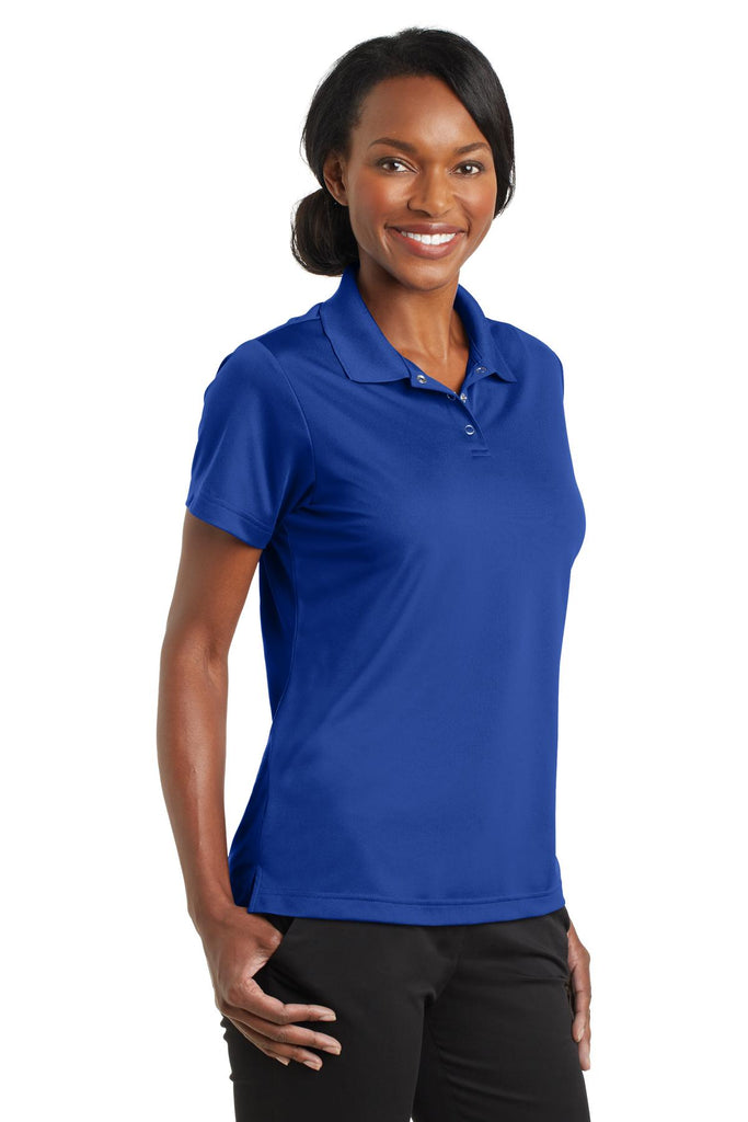 CornerStone CS422 Ladies Micropique Gripper Polo - True Royal - HIT A Double