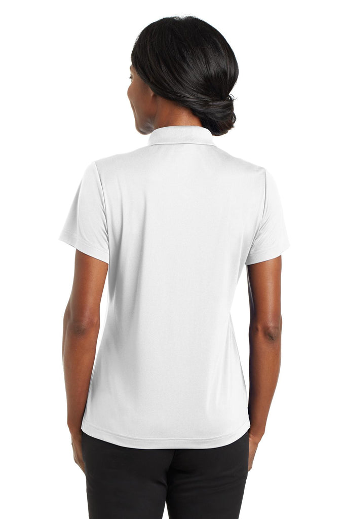 CornerStone CS422 Ladies Micropique Gripper Polo - White - HIT A Double
