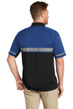 CornerStone CS423 Select Lightweight Snag-Proof Enhanced Visibility Polo - Royal Black - HIT A Double