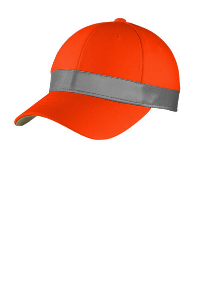 CornerStone CS802 Ansi 107 Safety Cap - Safety Orange - HIT A Double