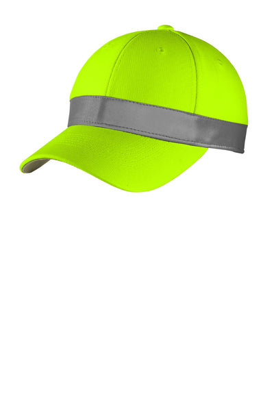 CornerStone CS802 Ansi 107 Safety Cap - Safety Yellow - HIT A Double