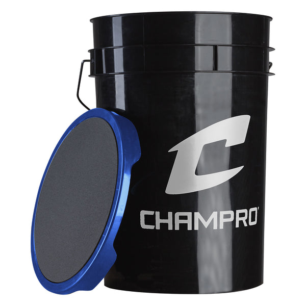 Champro CSB-TSP12X 12 Slow Pitch Leather Cover - HIT A Double