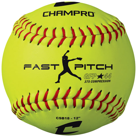 Champro CSB18 ASA 12 Fast Pitch -Durahide Cover .44 Cor - HIT A Double