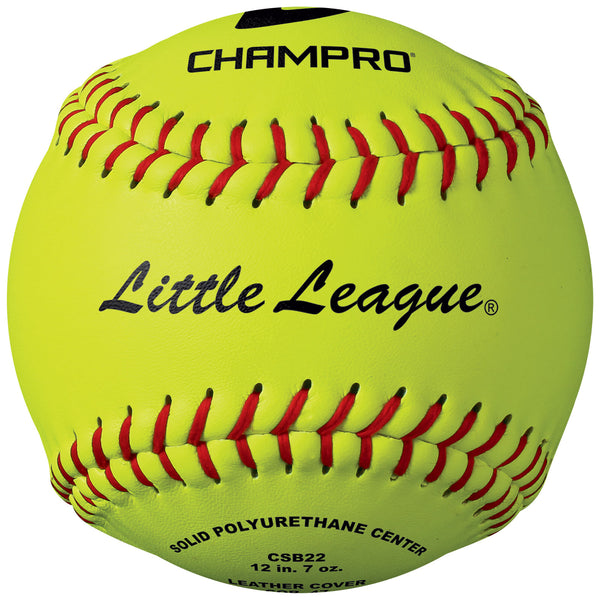 Champro CSB22 Little League 12 Tournament Fast Pitch SoftballLeather Cover