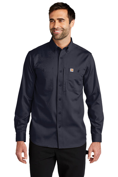 Carhartt CT102538 Rugged Professional Series Long Sleeve Shirt - Navy