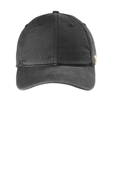 Carhartt CT103938 Cotton Canvas Cap - Black