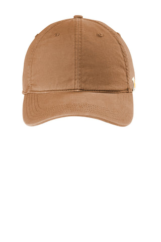 Carhartt CT103938 Cotton Canvas Cap - Carhartt Brown
