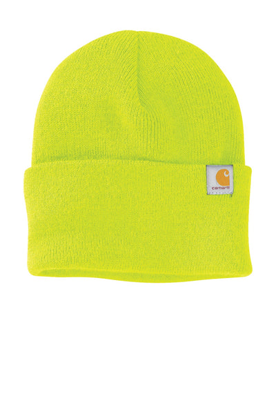 Carhartt CT104597 Watch Cap Beanie 2.0 - Bright Lime - HIT A Double