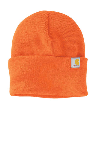 Carhartt CT104597 Watch Cap Beanie 2.0 - Bright Orange - HIT A Double