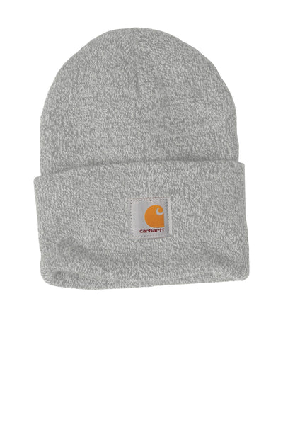 Carhartt CTA18 Acrylic Watch Beanie with Cuff - Heather Gray - HIT A Double
