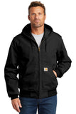 Carhartt CTJ131 Thermal-Lined Duck Active Jacket - Black - HIT A Double