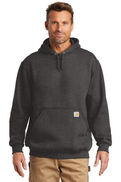 Carhartt CTK121 Midweight Hooded Sweatshirt - Carbon Heather - HIT A Double