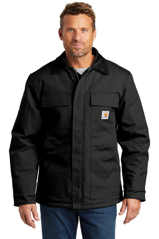 Carhartt CTTC003 Tall Duck Traditional Coat - Black - HIT A Double