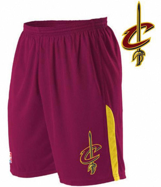 Alleson A205LA Adult NBA Logo Game Short - Cleveland Cavaliers