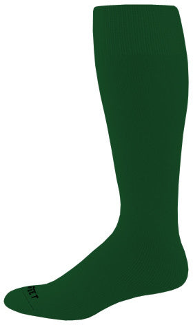 Pro Feet 287-289 Performance Multi-Sport Tube - Dark Green - Basketball, Baseball Apparel, Soccer, Softball Apparel, Football - Hit A Double