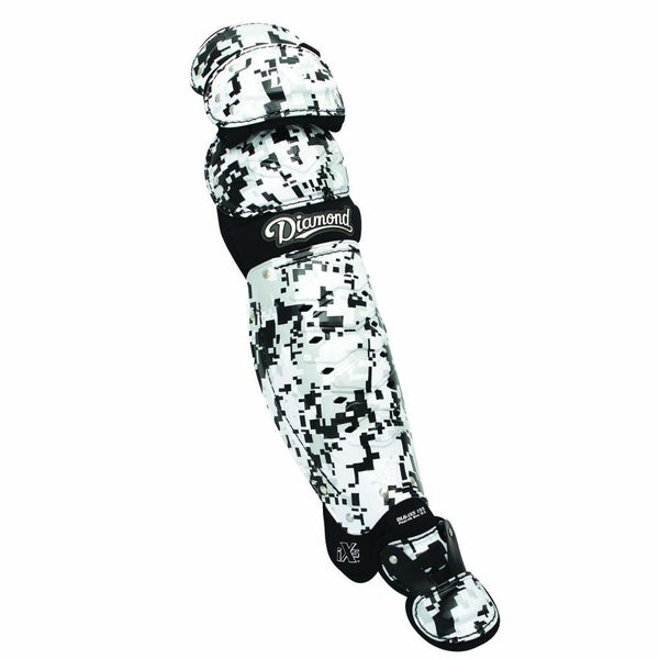 "Diamond DLG-iX5 14.5"" Triple Knee Leg Guards - Camo White"