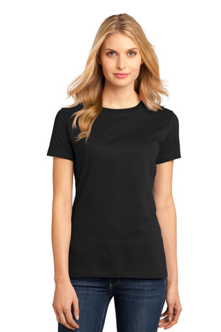 District DM104L Women's Perfect Weighttee - Jet Black - HIT A Double