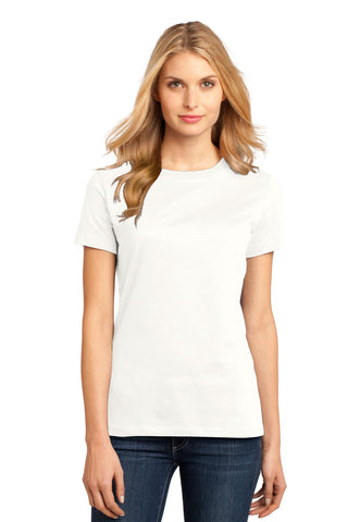 District DM104L Women's Perfect Weighttee - Bright White - HIT A Double
