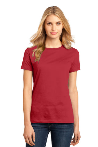 District DM104L Women's Perfect Weighttee - Classic Red - HIT A Double