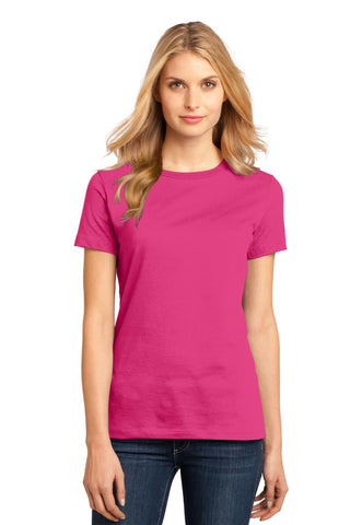 District DM104L Women's Perfect Weighttee - Dark Fuchsia - HIT A Double