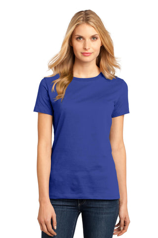 District DM104L Women's Perfect Weighttee - Deep Royal - HIT A Double