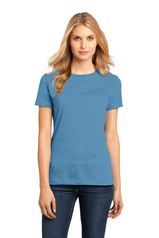 District DM104L Women's Perfect Weighttee - Clean Denim - HIT A Double