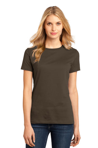 District DM104L Women's Perfect Weighttee - Espresso - HIT A Double