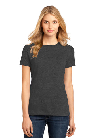 District DM104L Women's Perfect Weighttee - Heathered Charcoal - HIT A Double