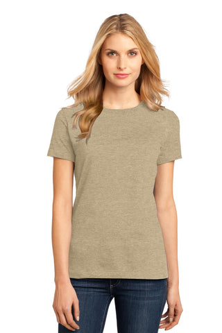 District DM104L Women's Perfect Weighttee - Heathered Latte - HIT A Double