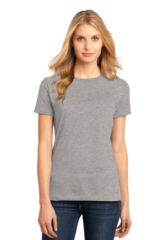 District DM104L Women's Perfect Weighttee - Heathered Steel - HIT A Double