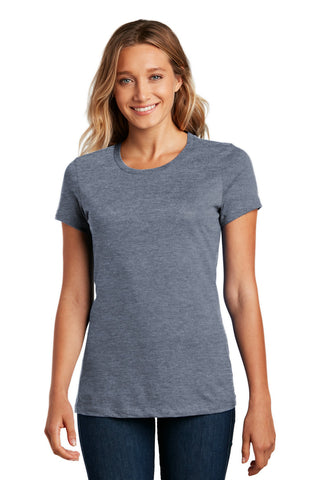 District DM104L Women's Perfect Weighttee - Heathered Navy - HIT A Double