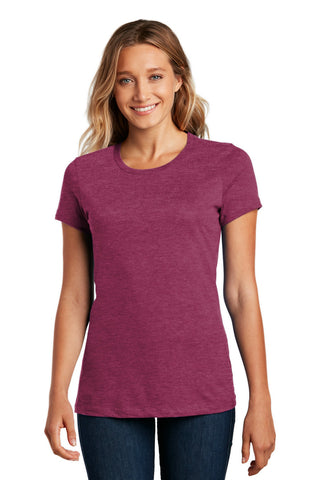 District DM104L Women's Perfect Weighttee - Heathered Loganberry - HIT A Double