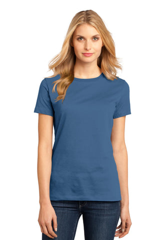 District DM104L Women's Perfect Weighttee - Maritime Blue - HIT A Double