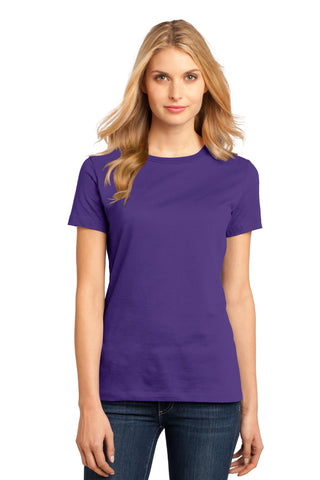 District DM104L Women's Perfect Weighttee - Purple - HIT A Double