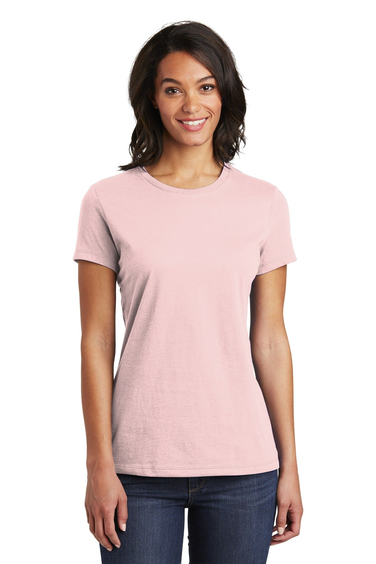 District DT6002 Women's Very Important Tee - Dusty Lavender - HIT A Double
