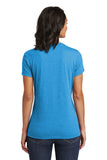 District DT6002 Women's Very Important Tee - Heathered Bright Turquoise - HIT A Double