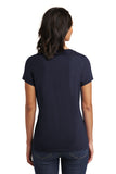 District DT6503 Women's Very Important Tee V-Neck - New Navy - HIT A Double