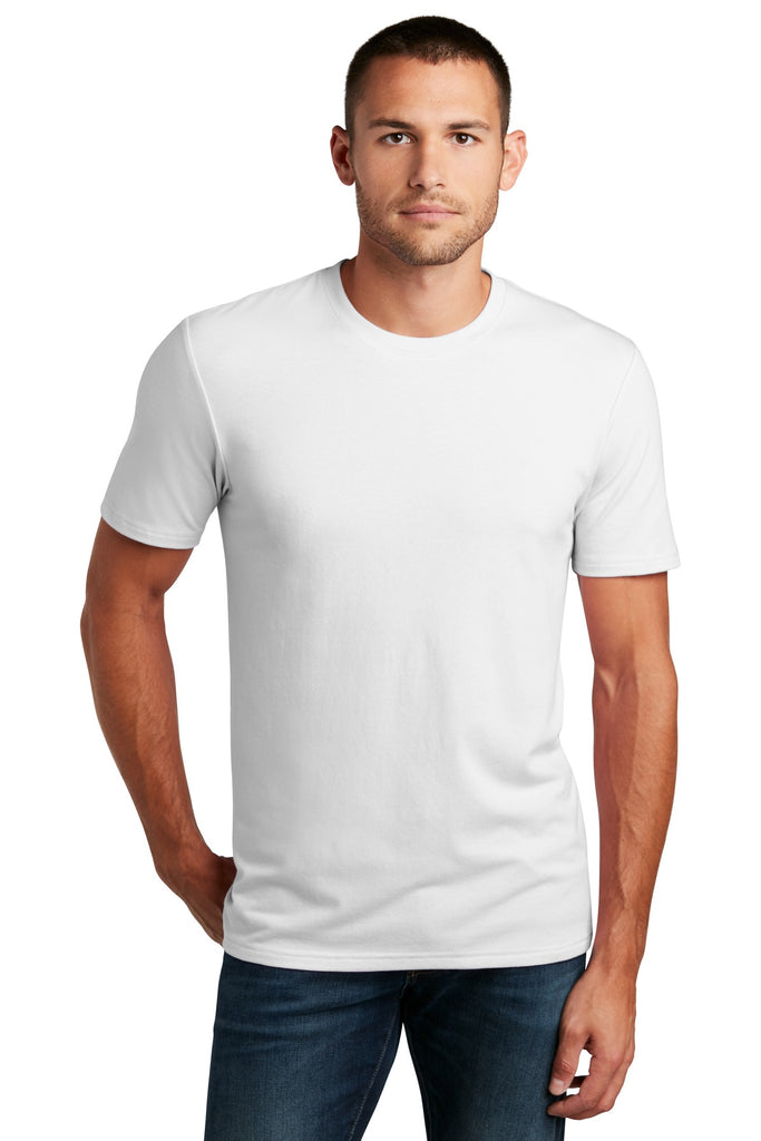 District DT7500 Flex Tee - White - HIT A Double