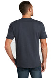 District DT8000 Re-Tee - Heathered Navy - HIT A Double