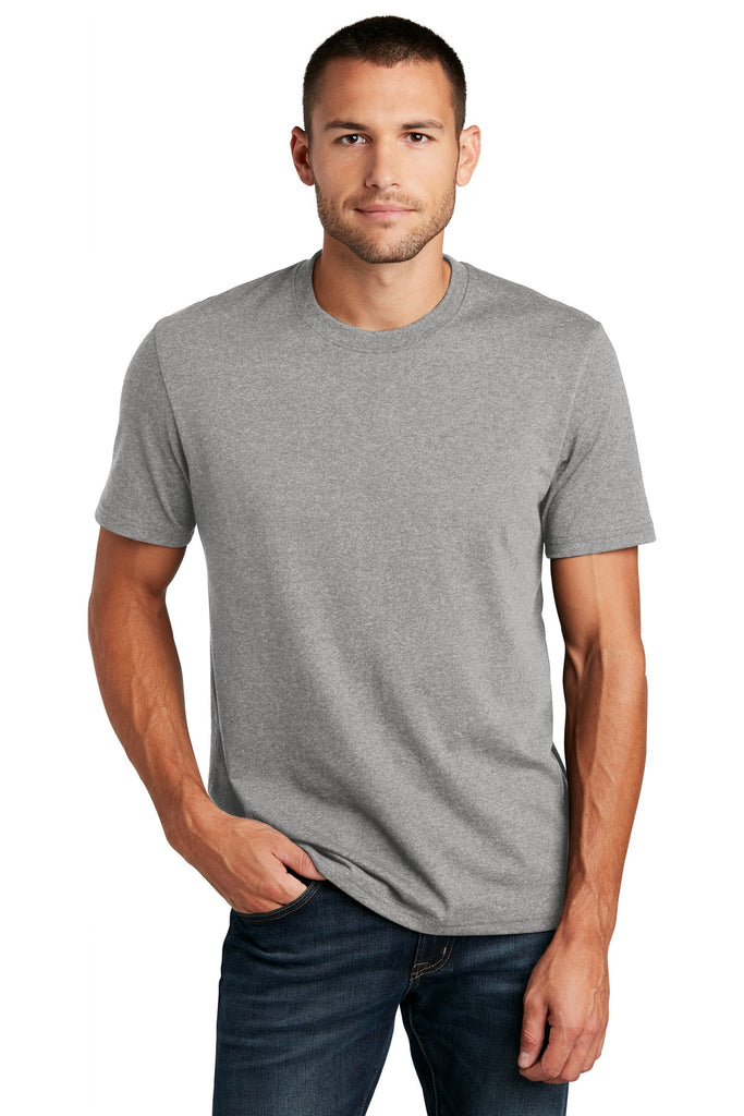 District DT8000 Re-Tee - Light Heather Gray - HIT A Double