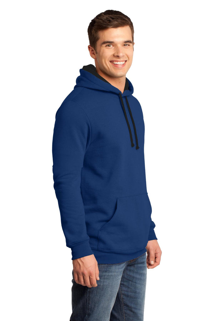 District DT810 The Concert Fleece Hoodie - Deep Royal - HIT A Double