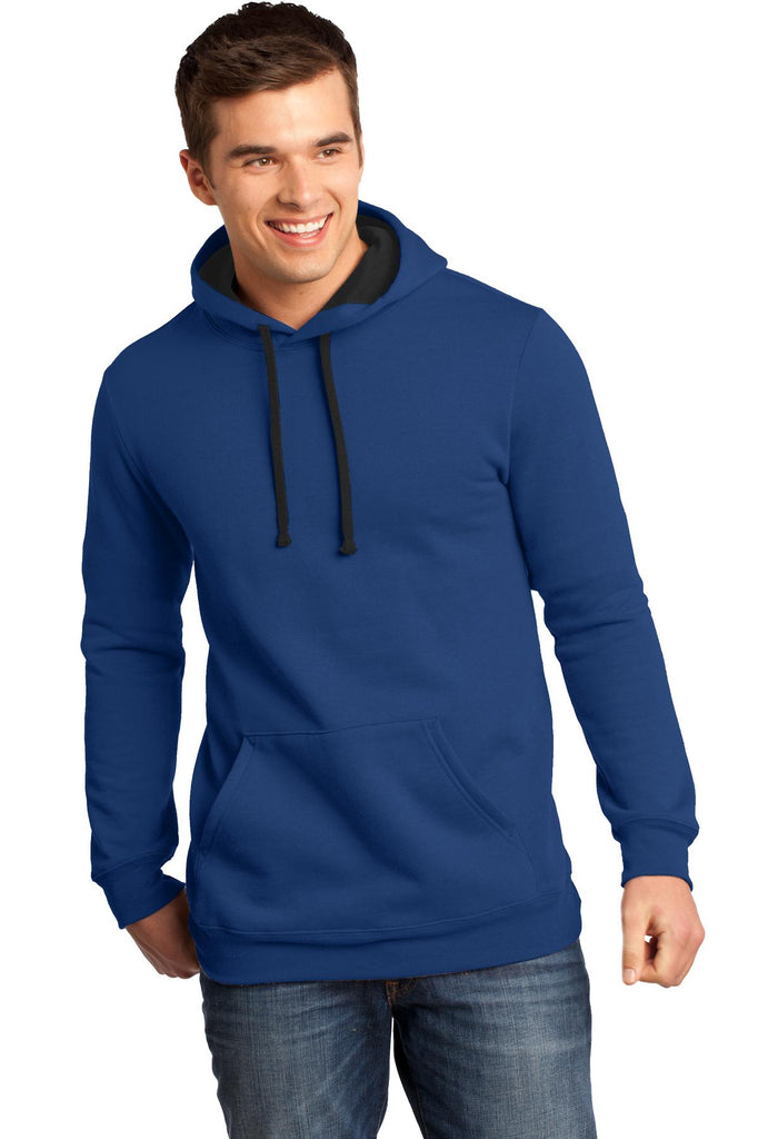 District DT810 The Concert Fleece Hoodie - Deep Royal