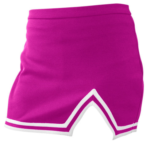Pizzazz A-Line Uniform Skirts - Hot Pink